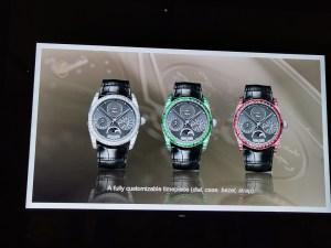 At the launch of Parmigiani Fleurier Hijri Calendar Wristwatch-Customised Dial options
