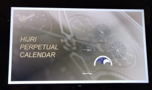At the launch of Parmigiani Fleurier Hijri Calendar Wristwatch-Moon Phase