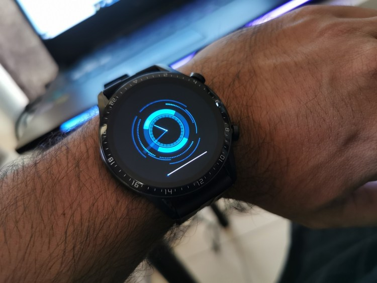 Huawei GT2-Watch- Firmware updating on the watch