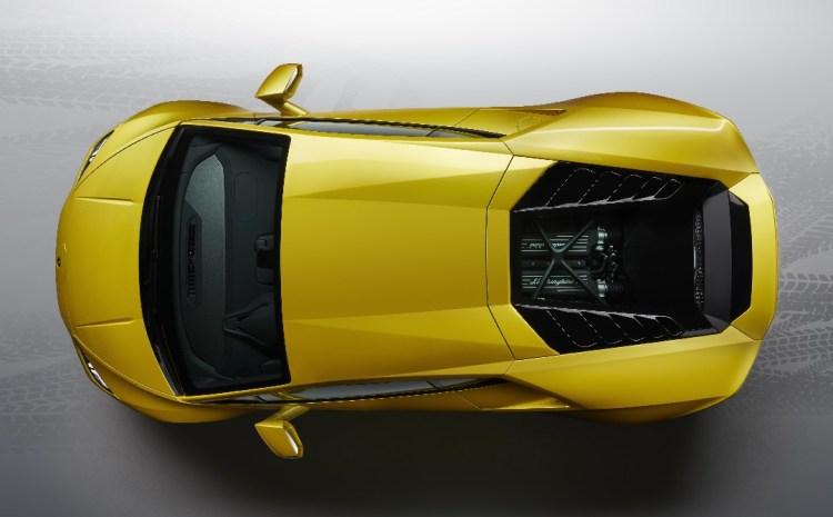 Lamborghini Huracán EVO Rear-Wheel Drive - Top-view