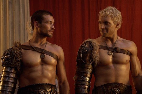 Spartacus et Varro  une bromance  ltat brut