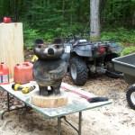 Making of Fishin' Bear