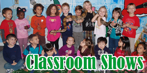 Reptile Classroom Shows Los Angeles