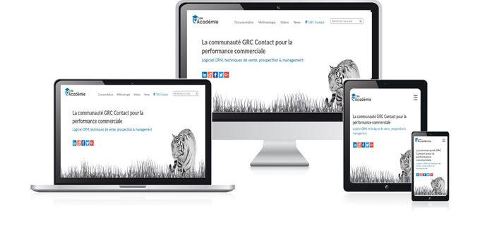 Découvrez le nouveau site CRM Académie et l'app mobile de