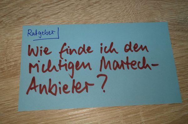 MarTech-Anbieter