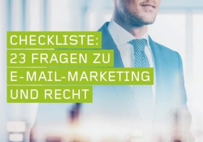 Checkliste artegic E-Mail