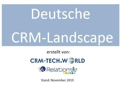 Die Deutsche CRM Landscape 2019