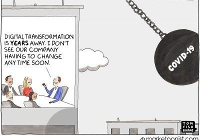 Marketoonist zur Digital Transformation