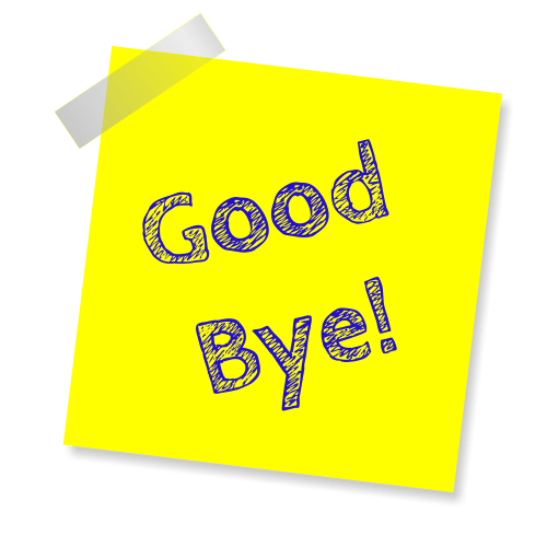Trennug von Kunden - Good bye
