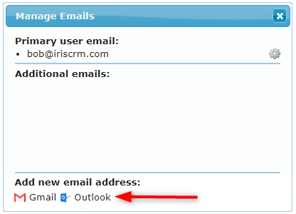 Add Outlook
