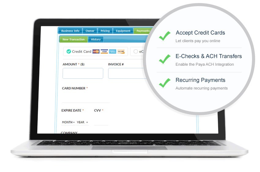All-In-One CRM Software For Customer Payment Collection