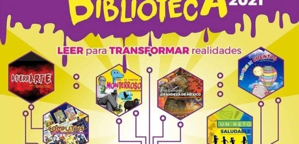"""Soledad informa que, el programa """"Mis Vacaciones en la Biblioteca 2021"""", reprograma sus actividades de manera virtual"""