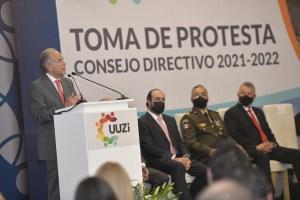 JMC reconoce la gestión de Ricardo Pérez, presidente saliente para impulsar el crecimiento empresarial de SLP.