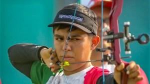 Arquero potosino se colgó la medalla de oro en el campeonato mundial juvenil