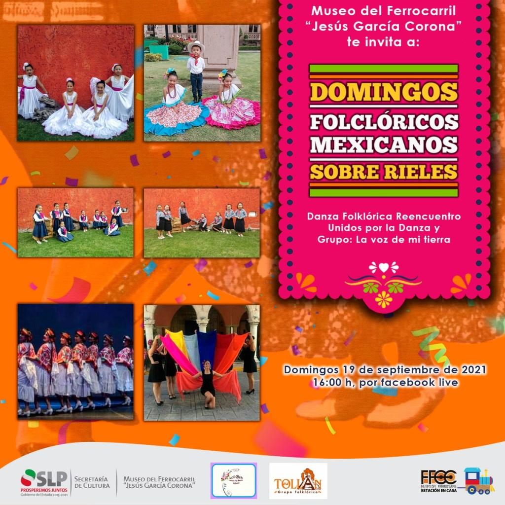 """Museo del Ferrocarril Jesús García Corona, que el próximo domingo presentará sus tradicionales """"Domingos Folclóricos Mexicanos sobre rieles"""""""