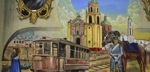 Soledad de Graciano Sánchez programa recorridos para que personas interesadas disfruten del mural monumental Los Arcos de la Historia.