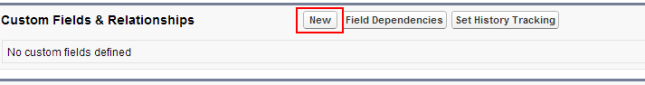 How to create custom fields in salesforce