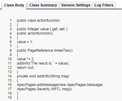 Visualforce Action Poller Component