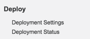 Deployment with Active Jobs