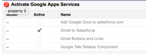 gmail to Salesforce