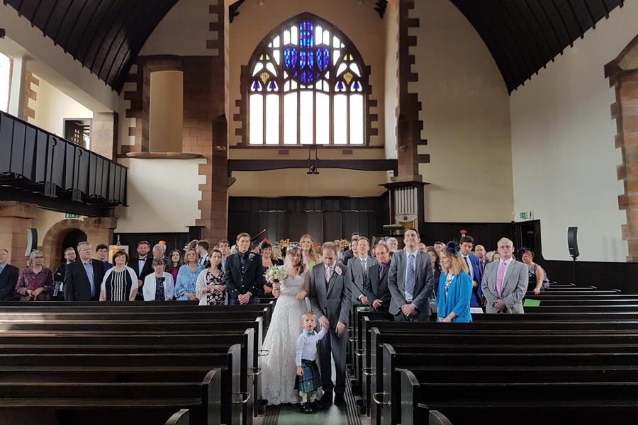 Wedding at Mackintosh Queens Cross