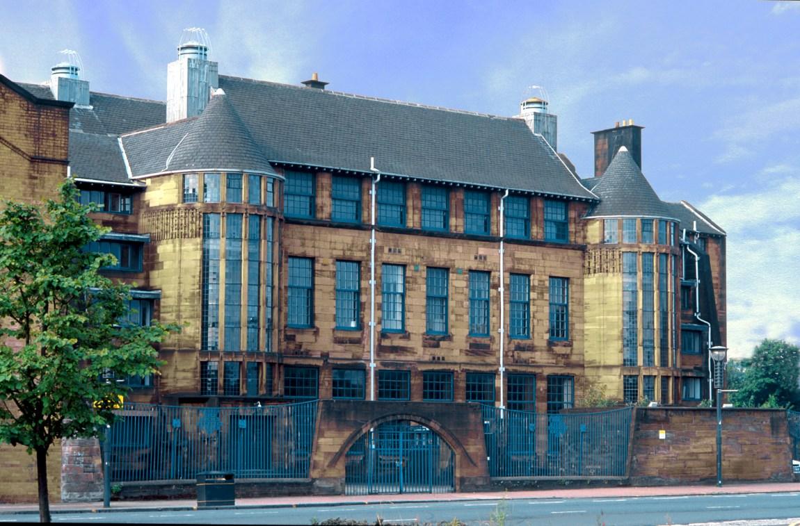 Fachada del Scotland Street School Museum