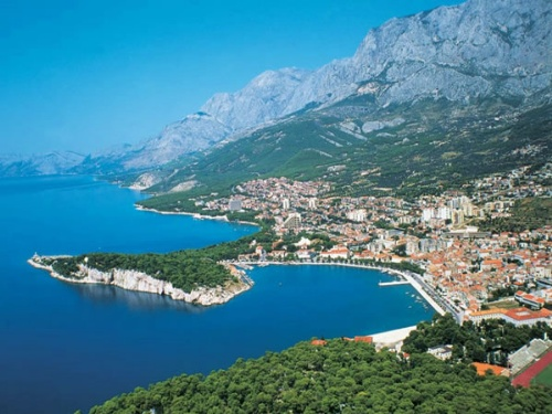 MAKARSKA Croatian Charter Bases And Proposed Routes
