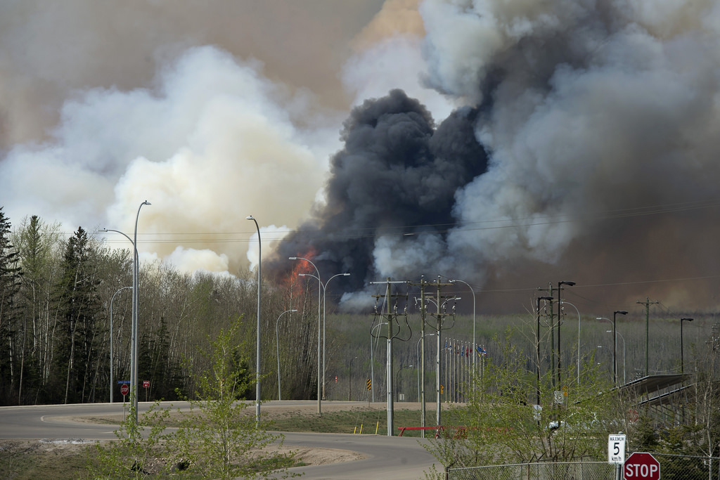 Fort McMurray wildfire photo