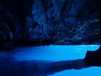 Visiting the Blue Cave on Bisevo Island