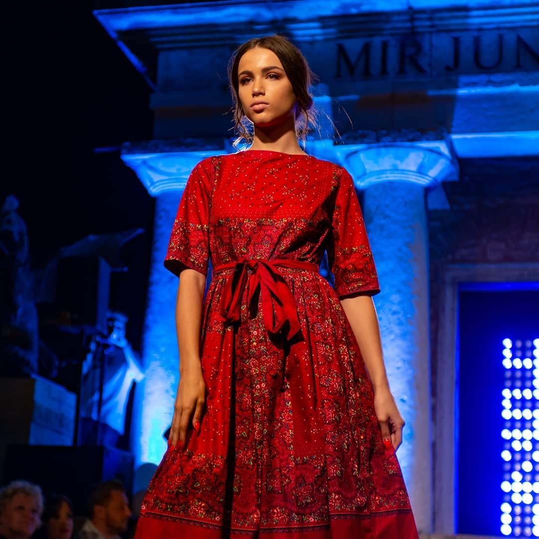 first dress in croatia