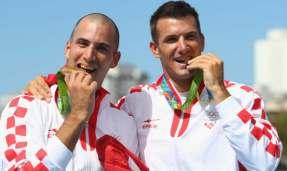Les frères Sinkovic MEDAILLE D'OR aviron en deux de couple