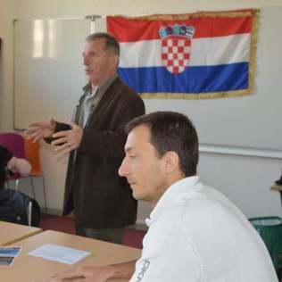 SKOLICA Inauguration avec Zdravko et Filip