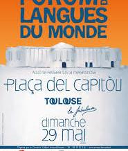 29 MAI 2016 : FOROM DES LANGUES (Place du Capitole à Toulouse)