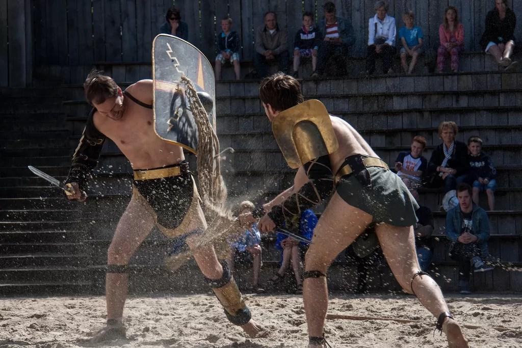 festival romain à Pula