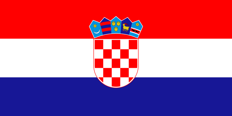 drapeau croate