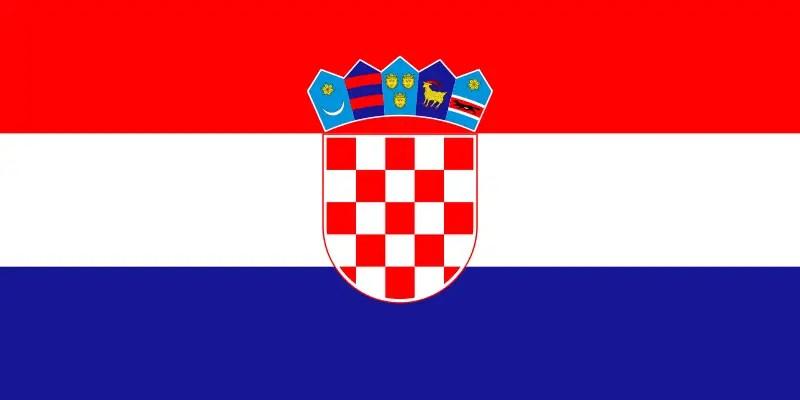 Le drapeau croate
