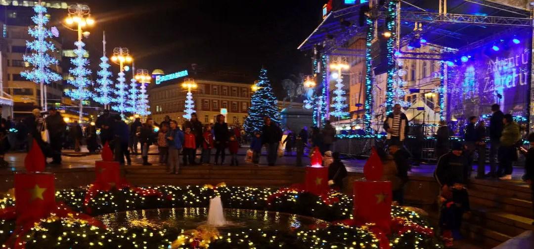 Zagreb, meilleur marché de Noël 2018