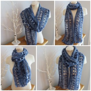 Ocean Kiss Summer Scarf Crochet247