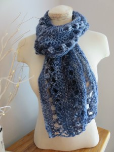 Ocean Kiss Summer Scarf from Crochet247