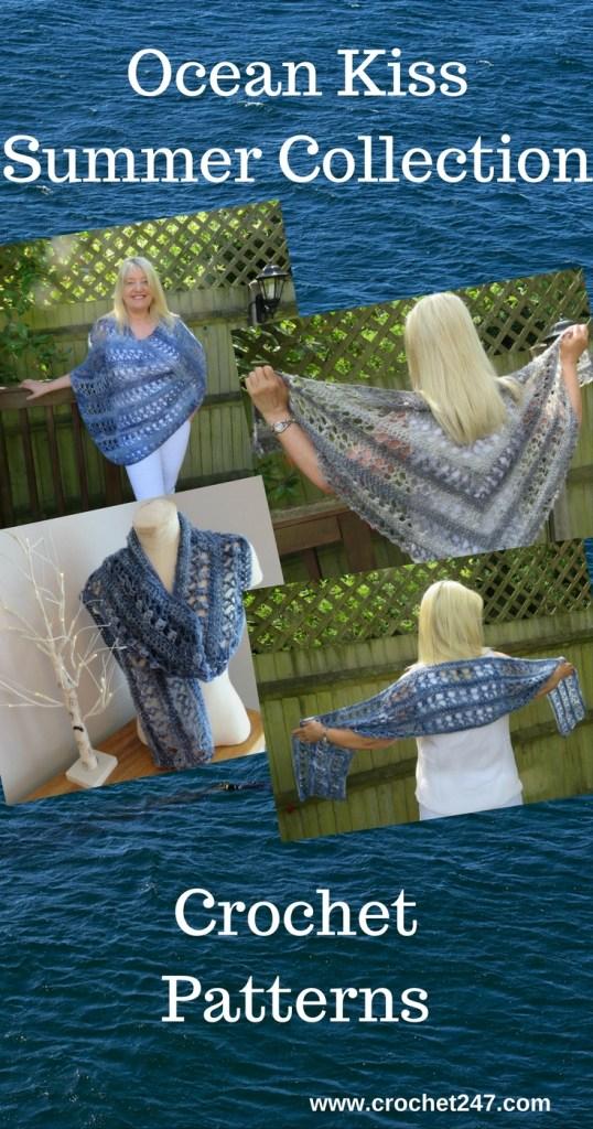 Ocean Kiss Summer Collection from Crochet 24/7