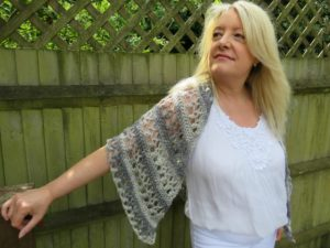 Ocean Kiss Summer Shawl Crochet Pattern from Crochet 24/7