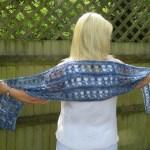 Ocean Kiss Summer Wrap Crochet Pattern from Crochet 24/7