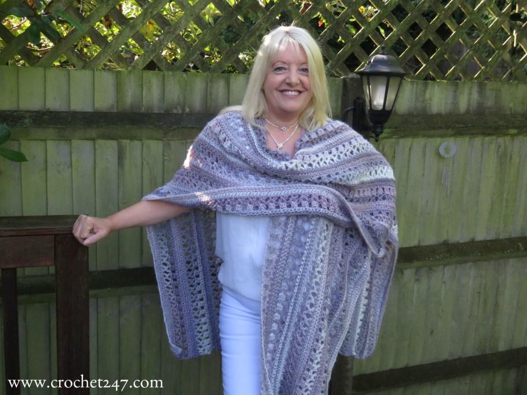 Red Heart Ruana crochet pattern Archives - Crochet 24/7