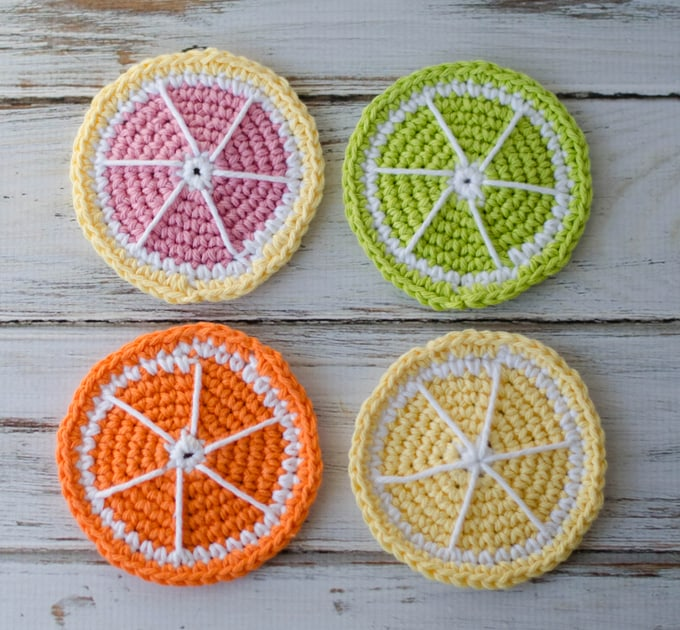 Love these crochet coasters free pattern easy and fun to make!