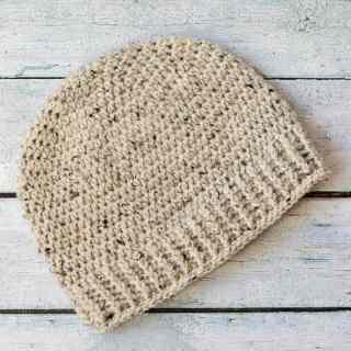 Salt of the Earth Men's Crochet Beanie
