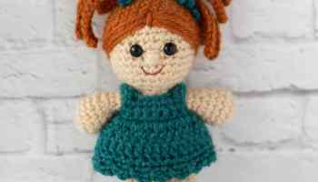 SALE Handmade doll hand crochet amigurumi doll ... - Folksy   200x350