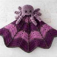 Spider On A Web ~ Crochet Baby Lovey