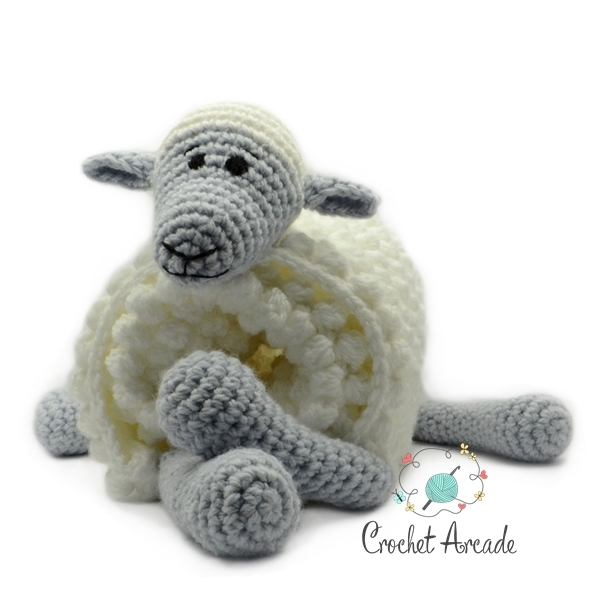 d3448f74ddfc Cuddle and Play Sheep Baby Blanket Crochet Pattern