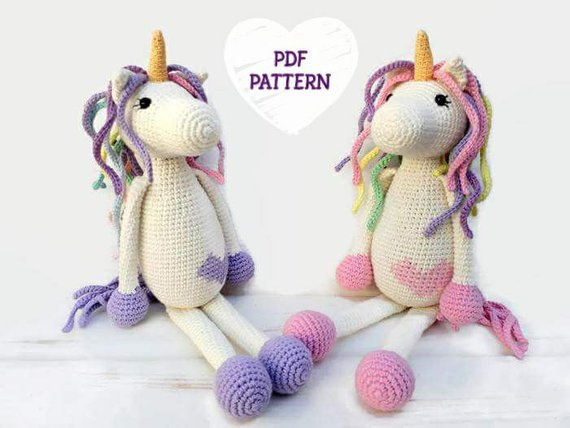 60 Most Amazing Unicorn Amigurumi Patterns Crochet Arcade Classy Unicorn Crochet Pattern