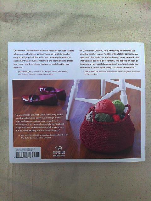 crochet book uncommon crochet